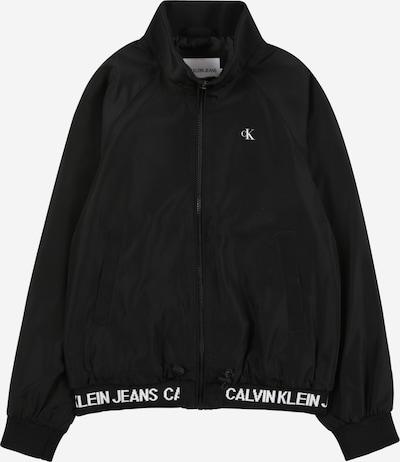 Calvin Klein Jeans Kurtka przejściowa w kolorze czarny / białym, Podgląd produktu