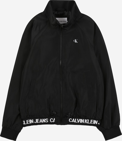 Calvin Klein Jeans Prechodná bunda - čierna / biela, Produkt