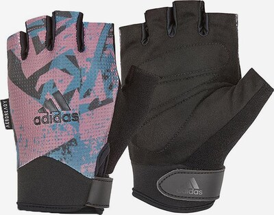ADIDAS PERFORMANCE Sporthandschuhe in grau / petrol / lila / schwarz, Produktansicht