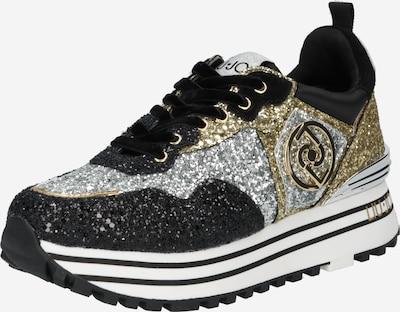 arany / fekete / ezüst Liu Jo Rövid szárú edzőcipők, Termék nézet