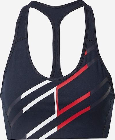 Tommy Sport Biustonosz sportowy w kolorze ciemny niebieski / czerwony / białym, Podgląd produktu