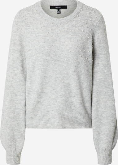 VERO MODA Pullover 'PLAZA' in grau, Produktansicht