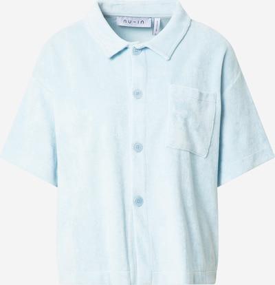 NU-IN Bluse in hellblau, Produktansicht