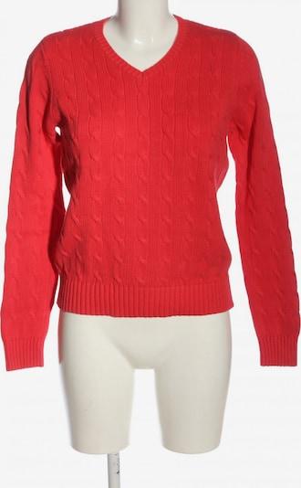 Franco Callegari V-Ausschnitt-Pullover in M in rot, Produktansicht