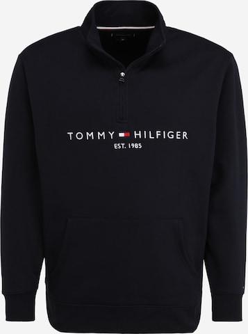 Bluză de molton de la Tommy Hilfiger Big & Tall pe albastru