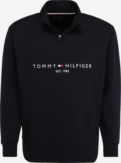 Bluză de molton Tommy Hilfiger Big & Tall pe albastru închis / roșu / alb, Vizualizare produs