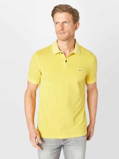BOSS Casual Тениска 'Prime' в жълто: Изглед отпред