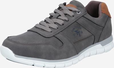TOM TAILOR Sneaker in marine / karamell / dunkelgrau, Produktansicht
