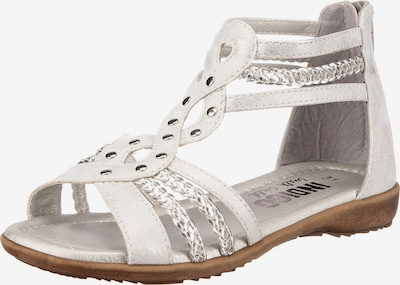 INDIGO Sandale in silber, Produktansicht