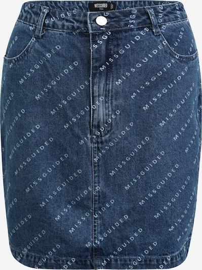 Missguided (Tall) Jupe en bleu denim / bleu clair, Vue avec produit