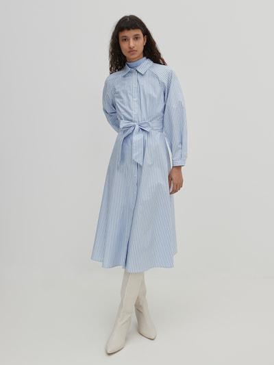 EDITED Рокля тип риза 'Bella' в синьо, Преглед на модела