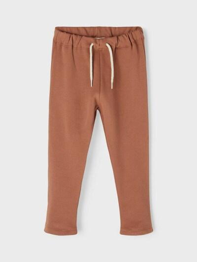 NAME IT Pantalon en marron: Vue de face