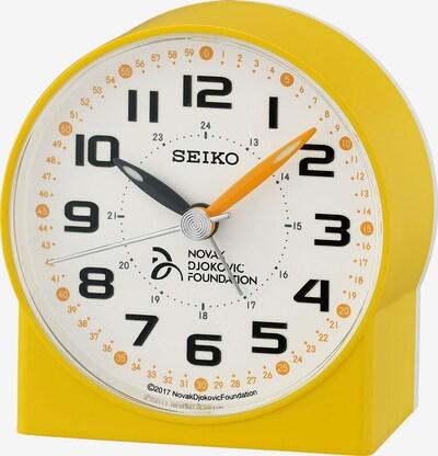 SEIKO Uhr in gelb / weiß, Produktansicht