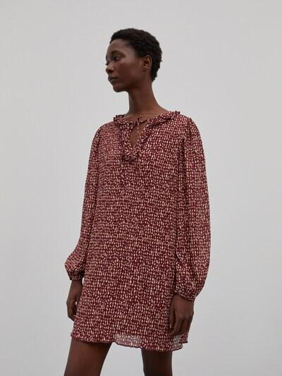 EDITED Šaty 'Adeline' - zmiešané farby / červená, Model/-ka