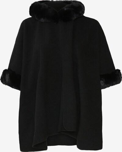 Paprika Cape in schwarz, Produktansicht