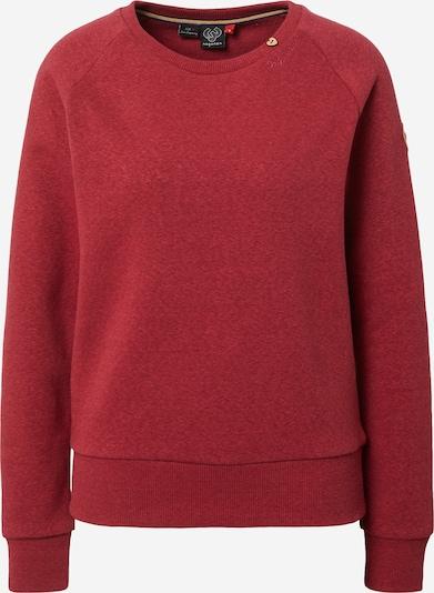 Ragwear Sweatshirt 'JOHANKA' in weinrot, Produktansicht
