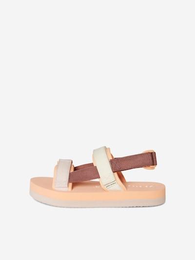 VERO MODA Туристически сандали 'Lia' в телесен цвят / кафяво / капучино, Преглед на продукта