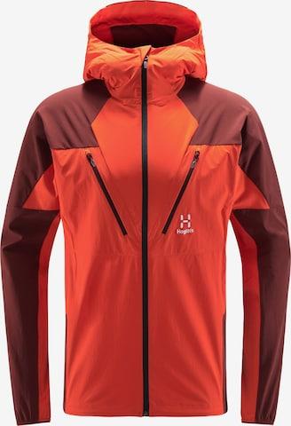 Haglöfs Outdoorjacke 'Tegus' in Orange