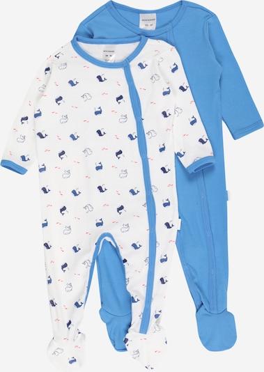 SCHIESSER Overall in de kleur Blauw / Navy / Wit, Productweergave