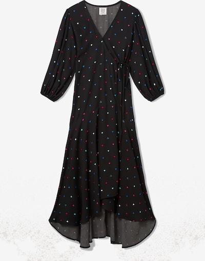 ZOE KARSSEN Kleid in blau / rot / schwarz / weiß, Produktansicht