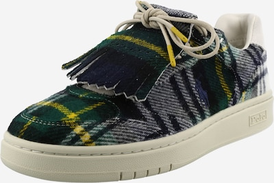 Polo Ralph Lauren Sneakers in Yellow / Green / Black / White, Item view