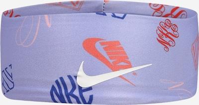 Nike Sportswear Accessoires Bandeau de sport en bleu / violet / orange / blanc, Vue avec produit
