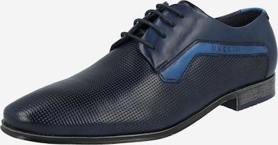bugatti Schnürschuh in himmelblau / dunkelblau, Produktansicht