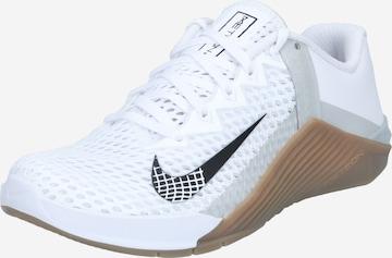 NIKE Spordijalats 'Nike Metcon 6', värv valge