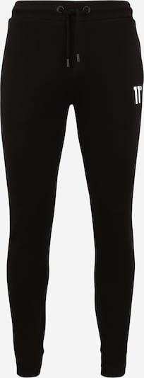 11 Degrees Hose in schwarz / weiß, Produktansicht