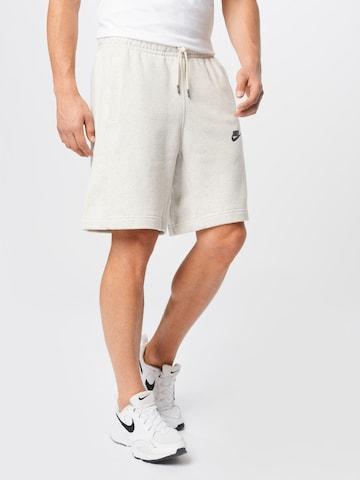 Nike Sportswear Trousers in White