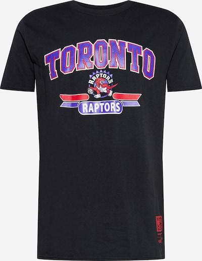 Mitchell & Ness T-Shirt 'TORONTO RAPTORS' en violet / rouge / noir / blanc, Vue avec produit