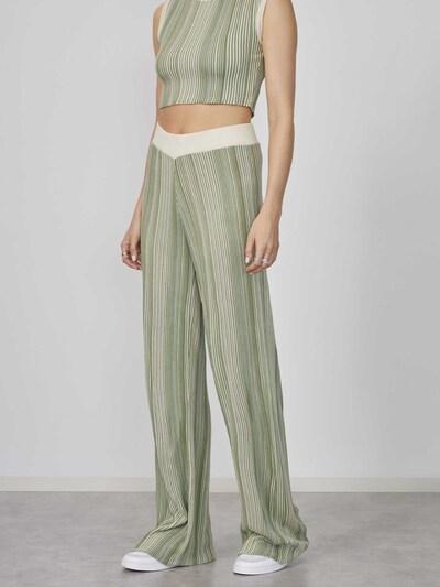 LeGer by Lena Gercke Trousers 'Yasmina' in Beige / Blue / Green, View model