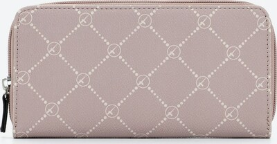 TAMARIS Wallet 'Anastasia' in Powder / White: Frontal view