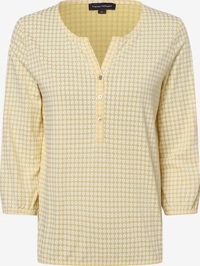 Franco Callegari Shirt in gelb / weiß, Produktansicht