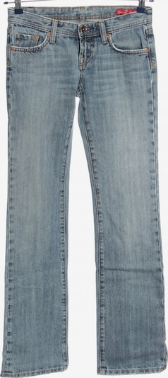 Seven7 Straight-Leg Jeans in 25-26 in blau, Produktansicht