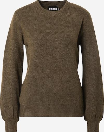 PIECES Sweater 'Perla' in Khaki, Item view