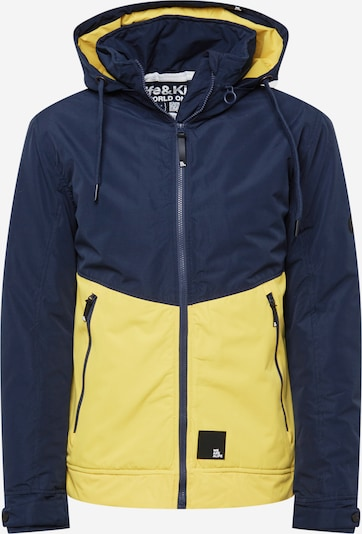 Alife and Kickin Zimska jakna 'Don Esteban' u mornarsko plava / žuta, Pregled proizvoda