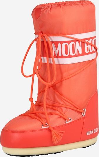 Bocanci de zăpadă MOON BOOT pe portocaliu / roz, Vizualizare produs