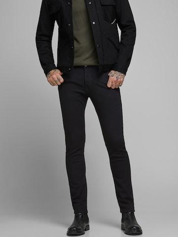 JACK & JONES Jeans 'NOOS - JJIGLENN JJORIGINAL AM 816 NOOS' in Black