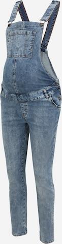 Jeans con pettorina 'Salopette' di LOVE2WAIT in blu