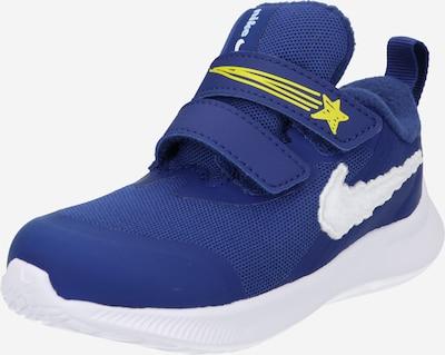 NIKE Laufschuh 'Star Runner 3 Dream' in royalblau / gelb / weiß, Produktansicht