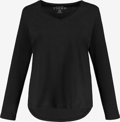 Studio Untold Shirt in schwarz: Frontalansicht