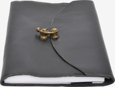 Gusti Leder Notizbuch Skizzenbuch 'Nadia' in schwarz, Produktansicht