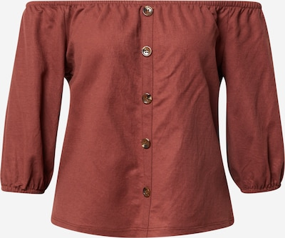 ABOUT YOU Blouse 'Gisa' in Chestnut brown, Item view
