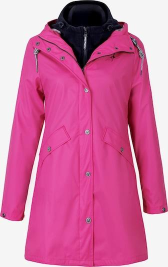 Dingy Rhythm Of The Rain Functionele jas in de kleur Neonroze / Zwart, Productweergave