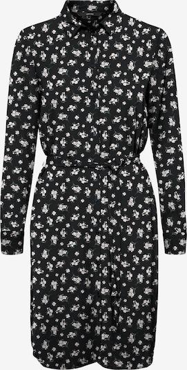 VERO MODA Kleid 'SAGA' in oliv / schwarz / weiß, Produktansicht