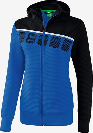 ERIMA Fußball - Teamsport Textil - Jacken ' 5-C Trainingsjacke Kapuze Damen ' in blau, Produktansicht