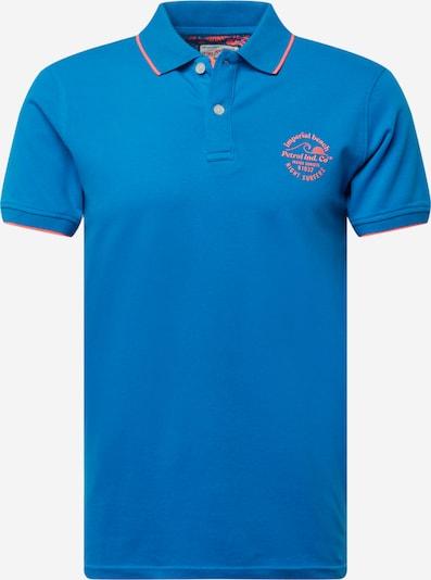 Petrol Industries T-Shirt en bleu roi / corail, Vue avec produit