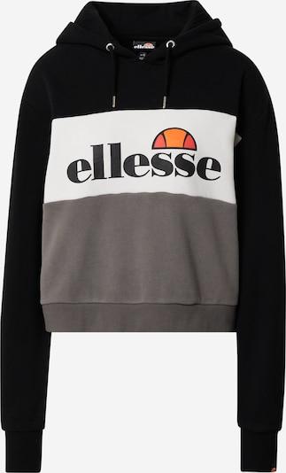 ELLESSE Sweatshirt in hellgrau / dunkelgrau / schwarz, Produktansicht