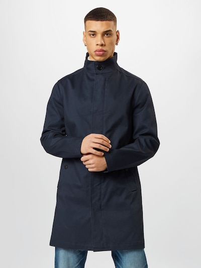 ESPRIT Between-seasons coat in dark blue, View model